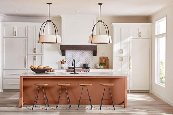 syracuse-ny-painters-kitchen-island-orange | RedRock ...